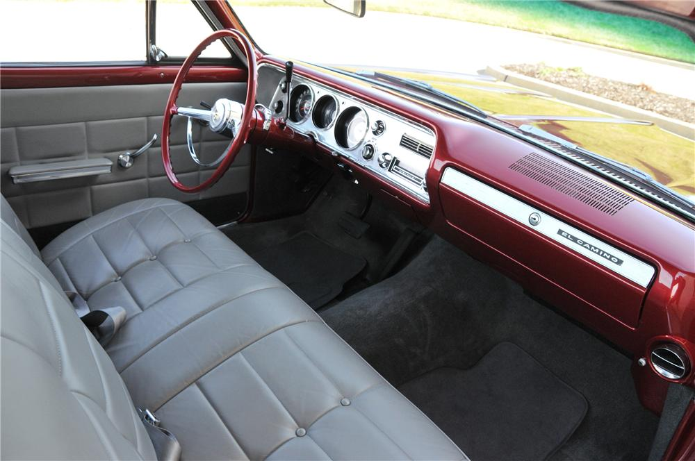 1964 CHEVROLET EL CAMINO CUSTOM PICKUP - Interior - 82176