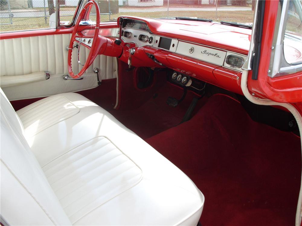 1958 CHEVROLET IMPALA 2 DOOR HARDTOP - Interior - 82179