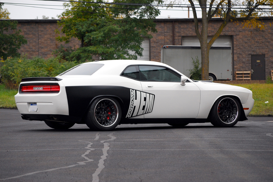 "2009 DODGE CHALLENGER R/T COUPE ""CHARVEL CONCEPT"" - Rear 3/4 - 82188"