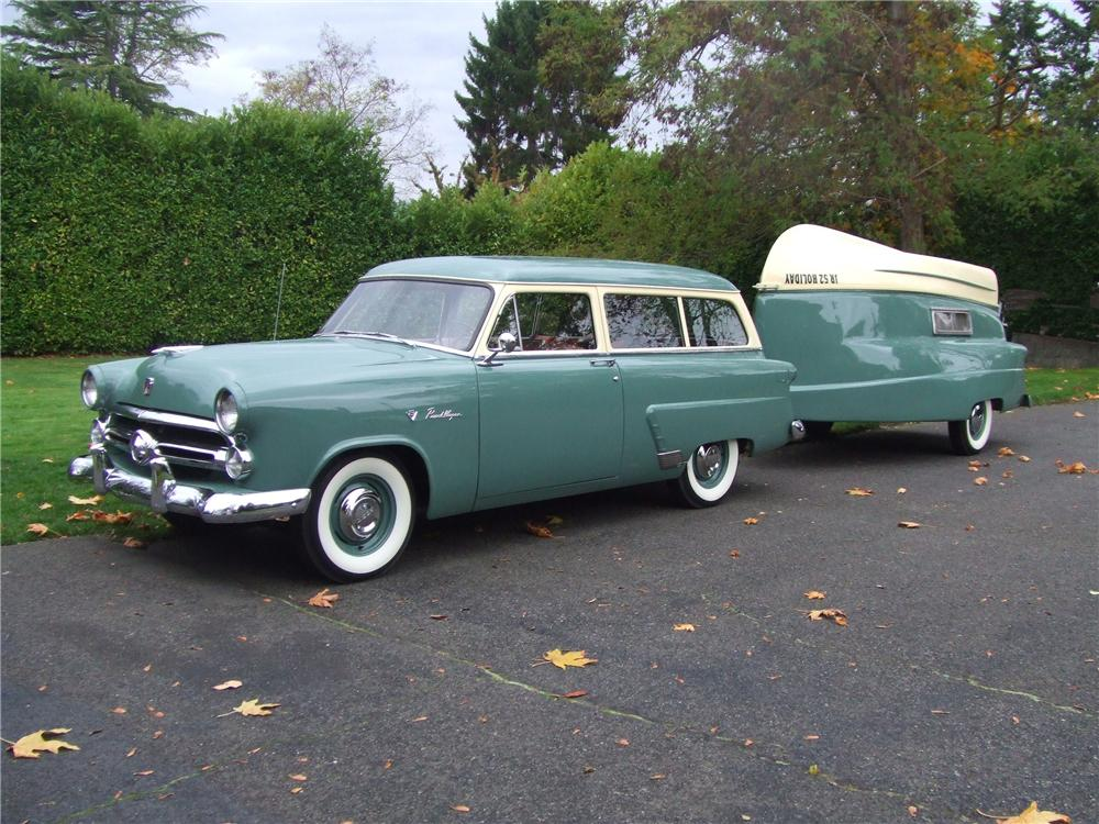 1952 FORD MAINLINE RANCH WAGON - Side Profile - 82229