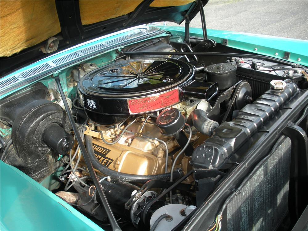 1957 OLDSMOBILE SUPER 88 FIESTA WAGON - Engine - 82231