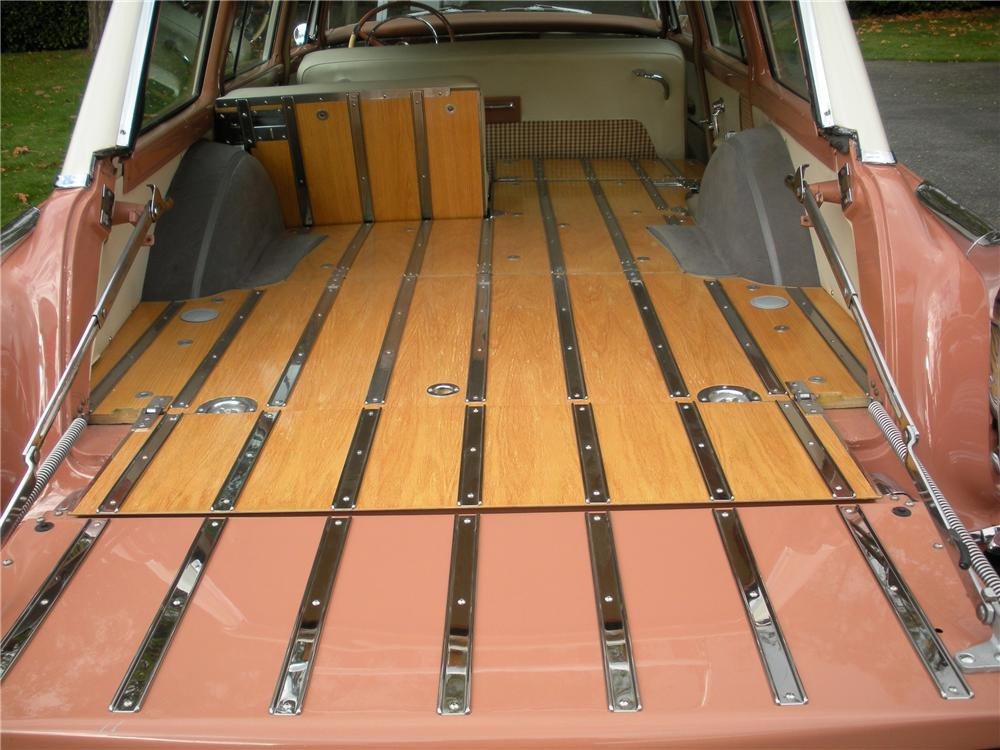 1955 CHRYSLER NEW YORKER TOWN & COUNTRY WAGON - Interior - 82232