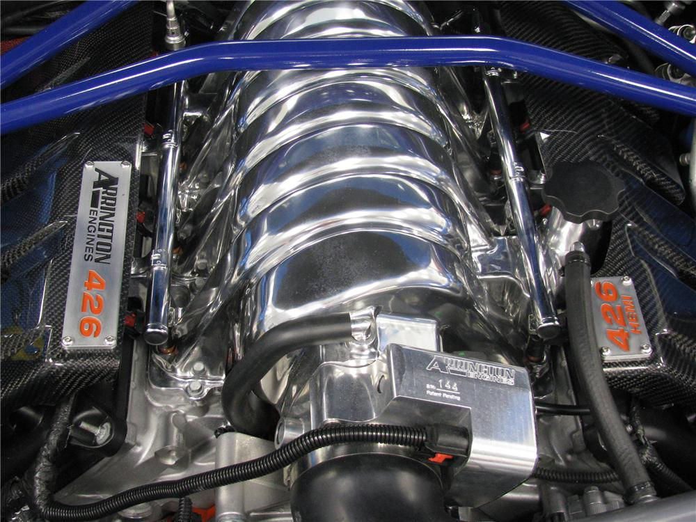 "2009 DODGE CHALLENGER SRT ""RICHARD PETTY S SERIAL # 0001"" - Engine - 82234"