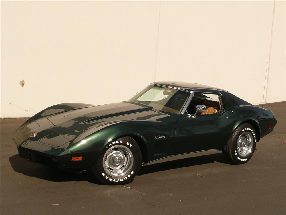 1974 CHEVROLET CORVETTE COUPE - Front 3/4 - 82236
