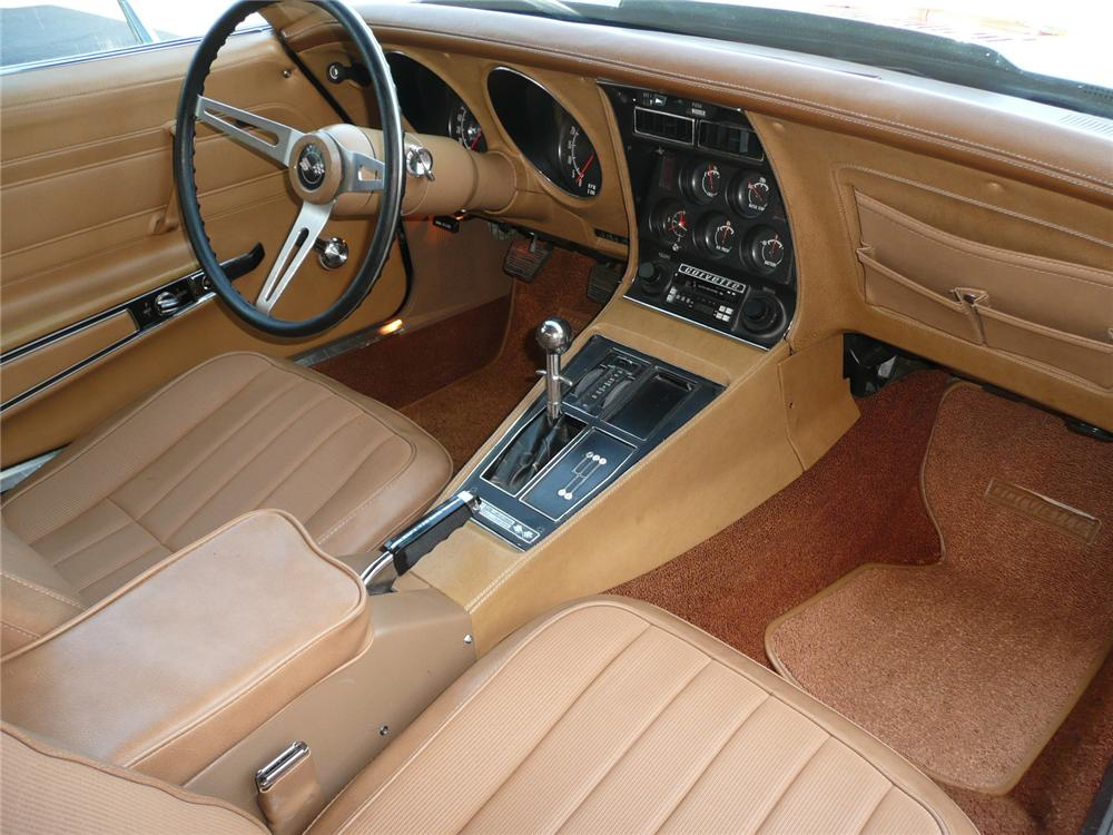 1974 CHEVROLET CORVETTE COUPE - Interior - 82236