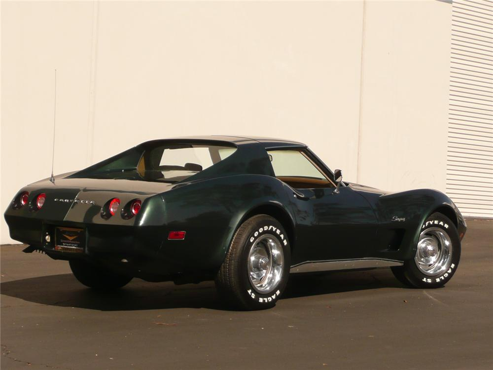 1974 CHEVROLET CORVETTE COUPE - Rear 3/4 - 82236