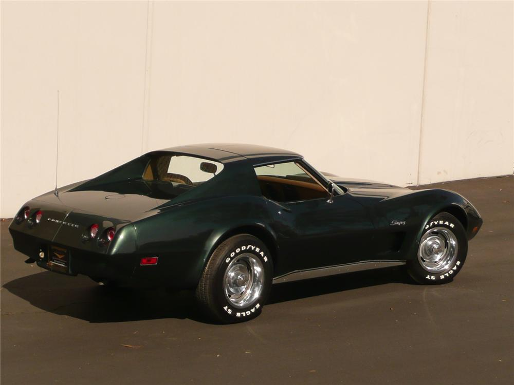 1974 CHEVROLET CORVETTE COUPE - Side Profile - 82236