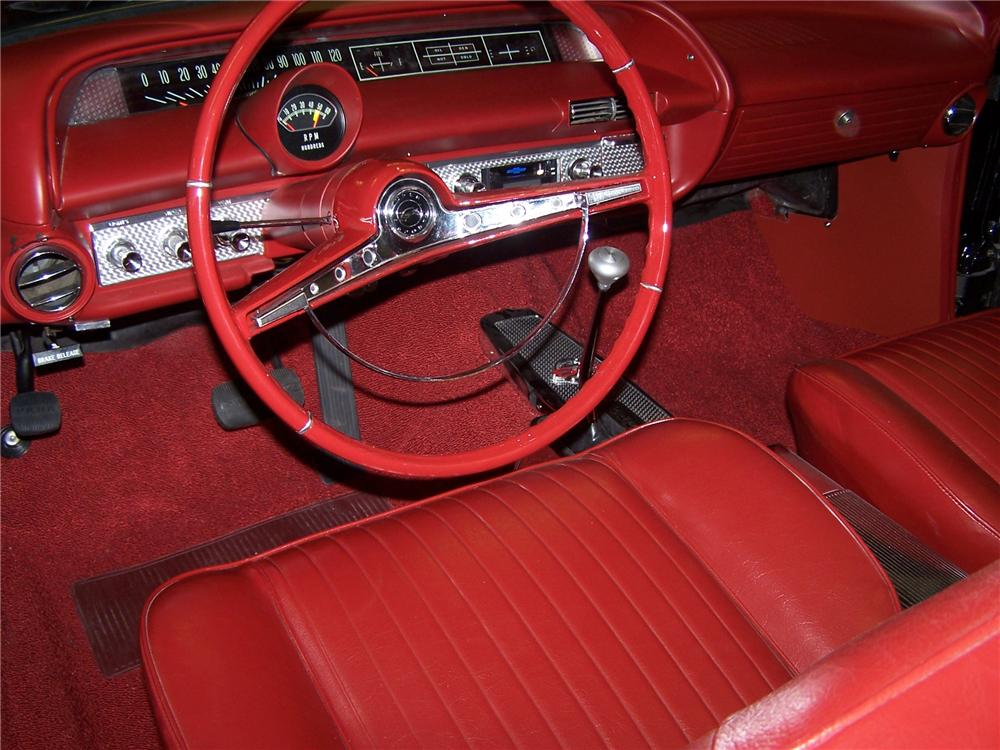 1963 CHEVROLET IMPALA SS CONVERTIBLE - Interior - 82238