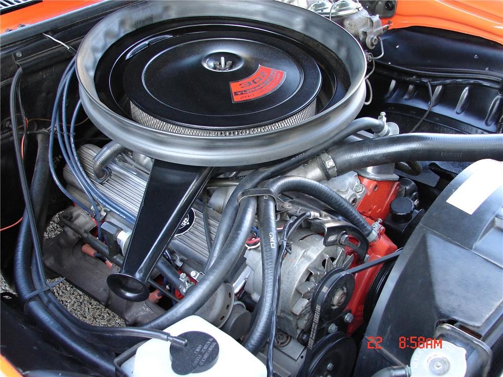1969 CHEVROLET CAMARO Z/28 RS COUPE - Engine - 82239