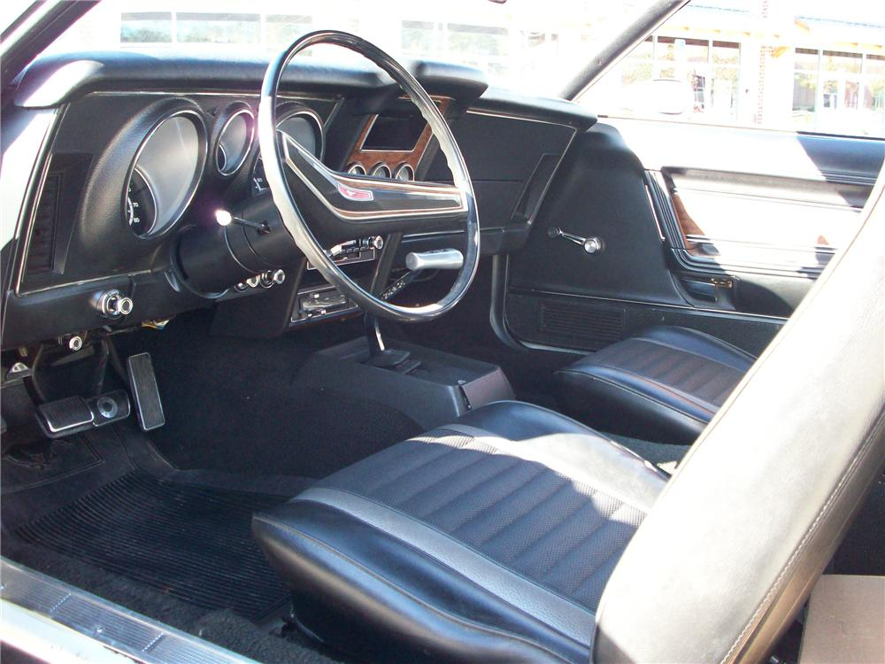 1971 FORD MUSTANG BOSS 351 FASTBACK - Interior - 82241