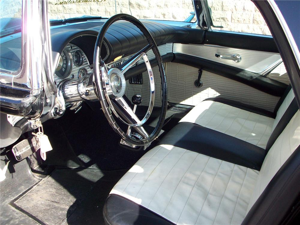 1957 FORD THUNDERBIRD CONVERTIBLE - Interior - 82243