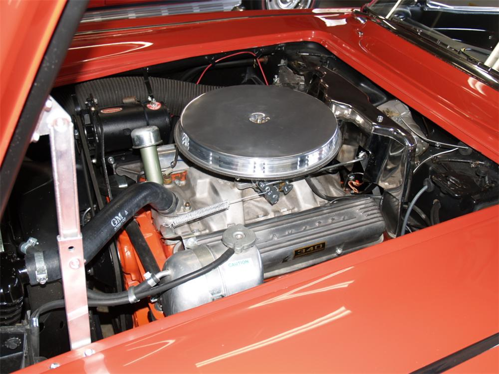 1962 CHEVROLET CORVETTE CONVERTIBLE - Engine - 82289
