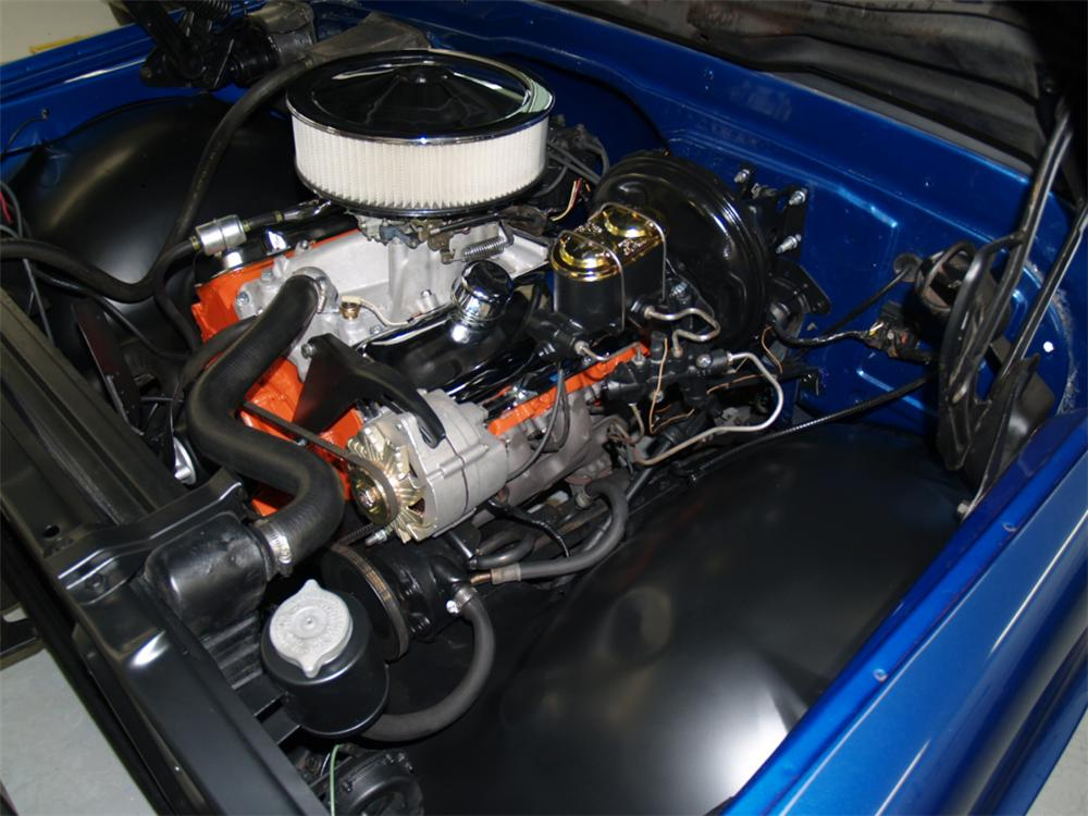 1971 CHEVROLET CHEYENNE SUPER PICKUP - Engine - 82291