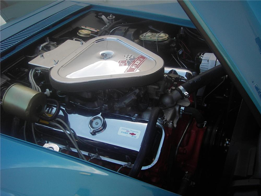 1969 CHEVROLET CORVETTE COUPE - Engine - 82302