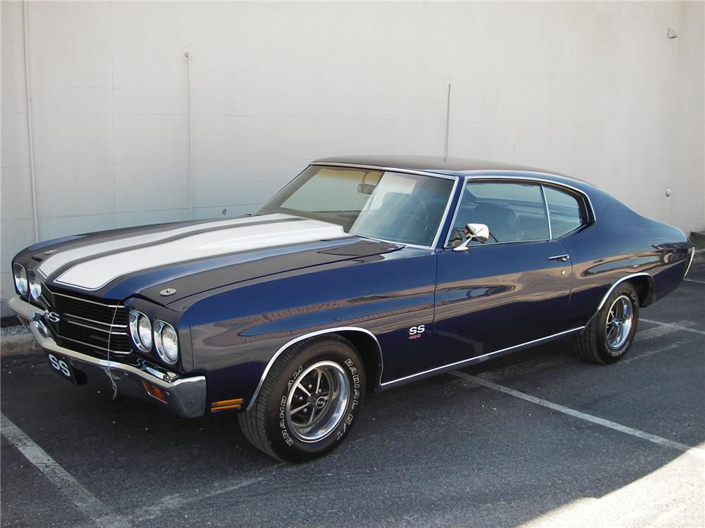 1970 CHEVROLET CHEVELLE HARDTOP SS 454 RE-CREATION - Front 3/4 - 82305