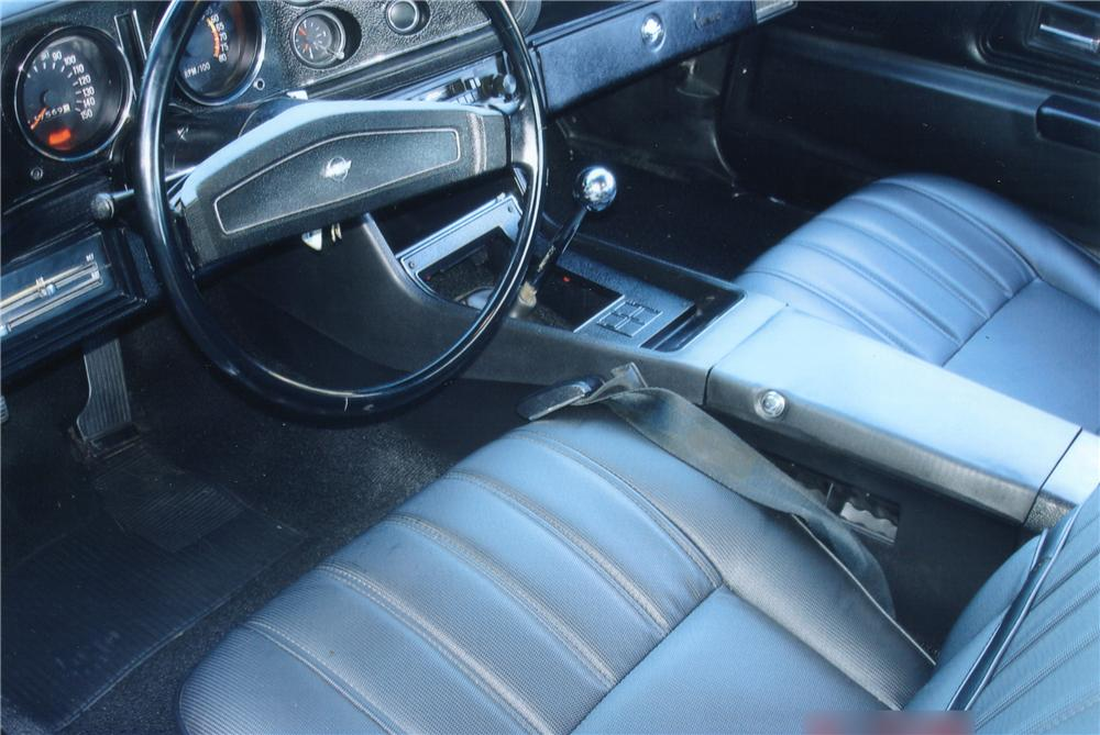 1970 CHEVROLET CAMARO Z/28 COUPE - Interior - 82363