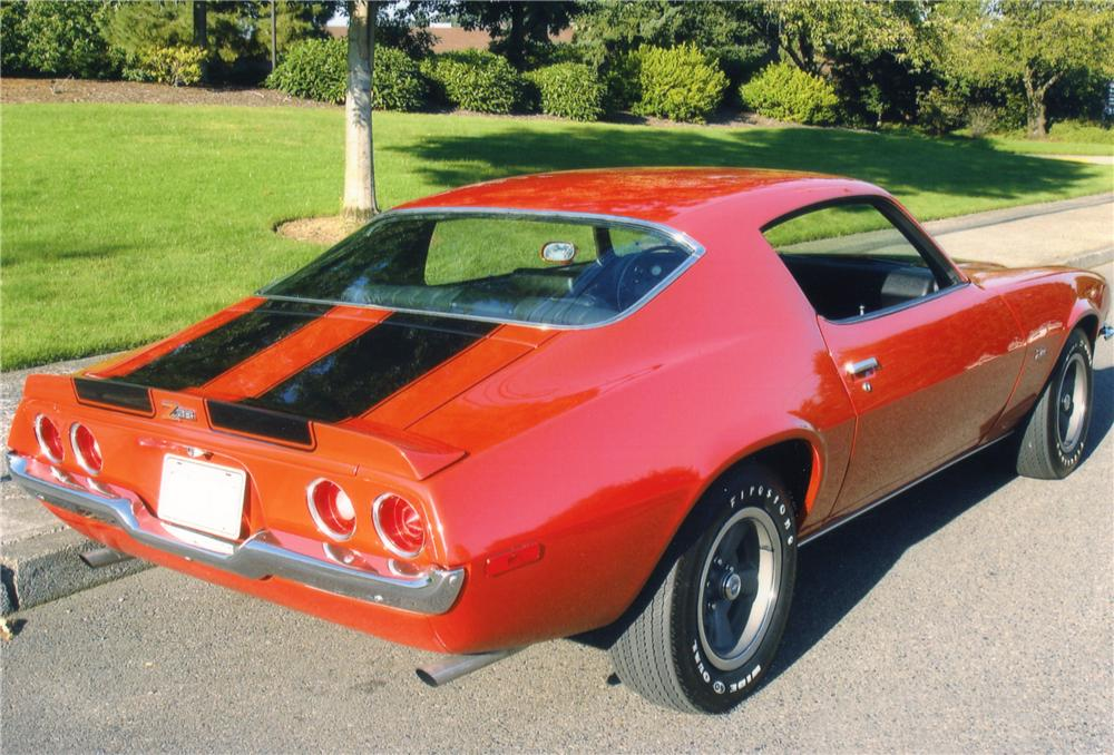 1970 CHEVROLET CAMARO Z/28 COUPE - Rear 3/4 - 82363
