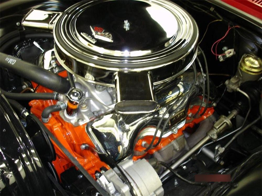 1963 CHEVROLET IMPALA SS CONVERTIBLE - Engine - 82365
