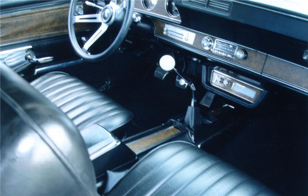1970 OLDSMOBILE 442 W30 CONVERTIBLE - Interior - 82366