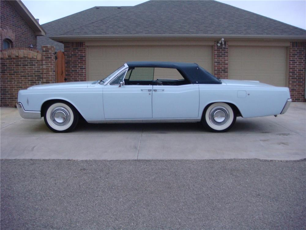 1966 LINCOLN CONTINENTAL 4 DOOR CONVERTIBLE - 82367