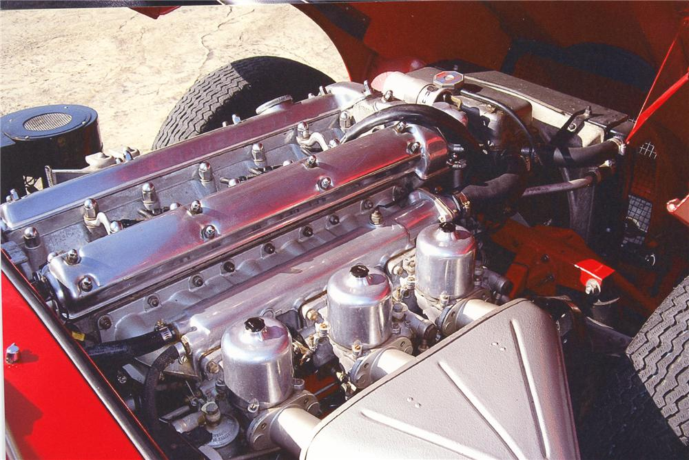 1967 JAGUAR XKE CONVERTIBLE - Engine - 82370