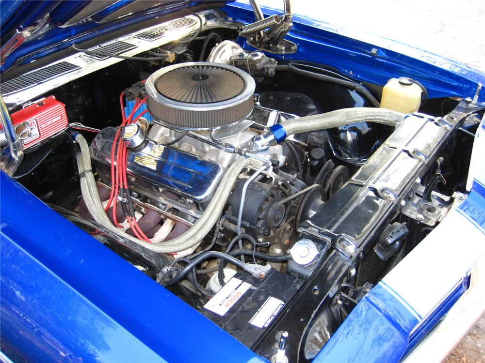 1969 CHEVROLET EL CAMINO PICKUP - Engine - 82374