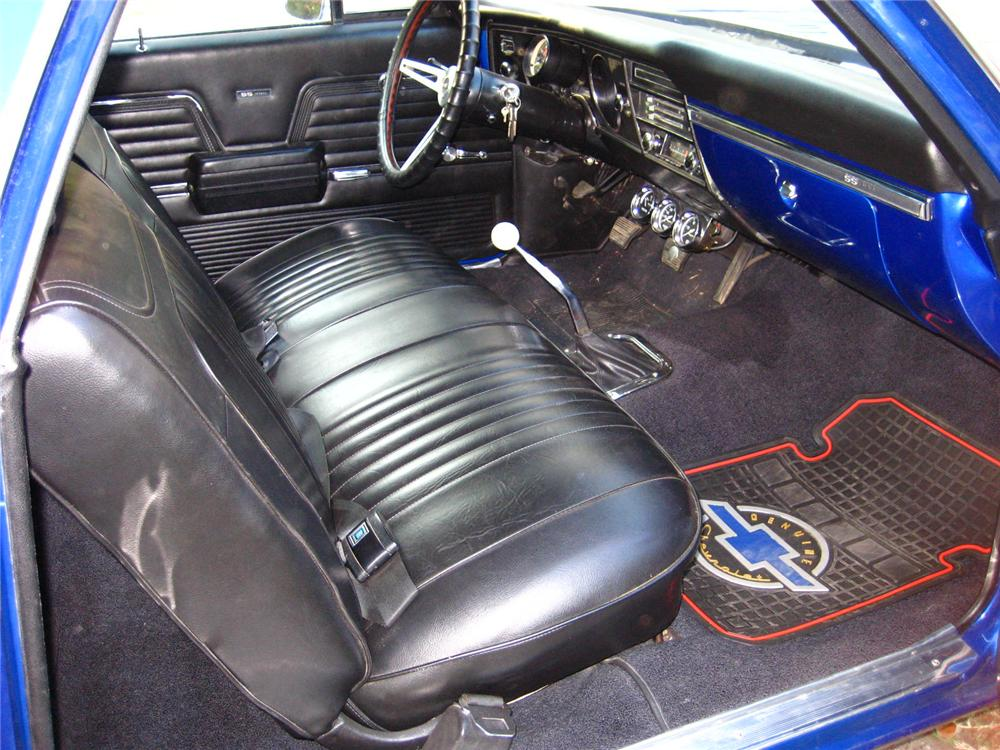 1969 CHEVROLET EL CAMINO PICKUP - Interior - 82374