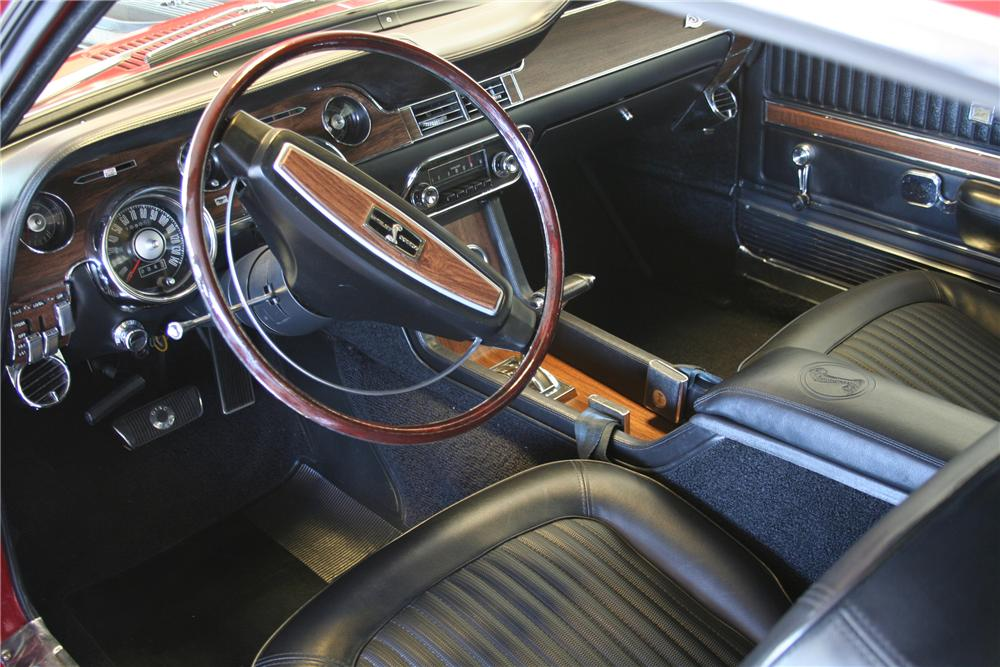 1968 SHELBY GT350 FASTBACK - Interior - 82376