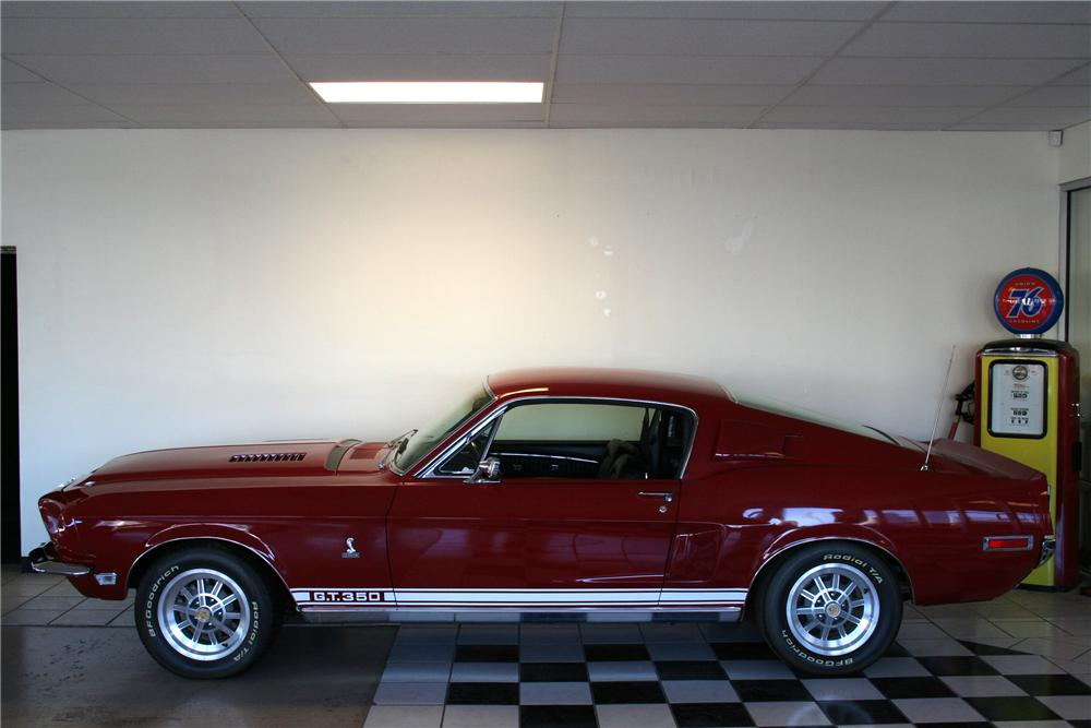 1968 SHELBY GT350 FASTBACK - Side Profile - 82376