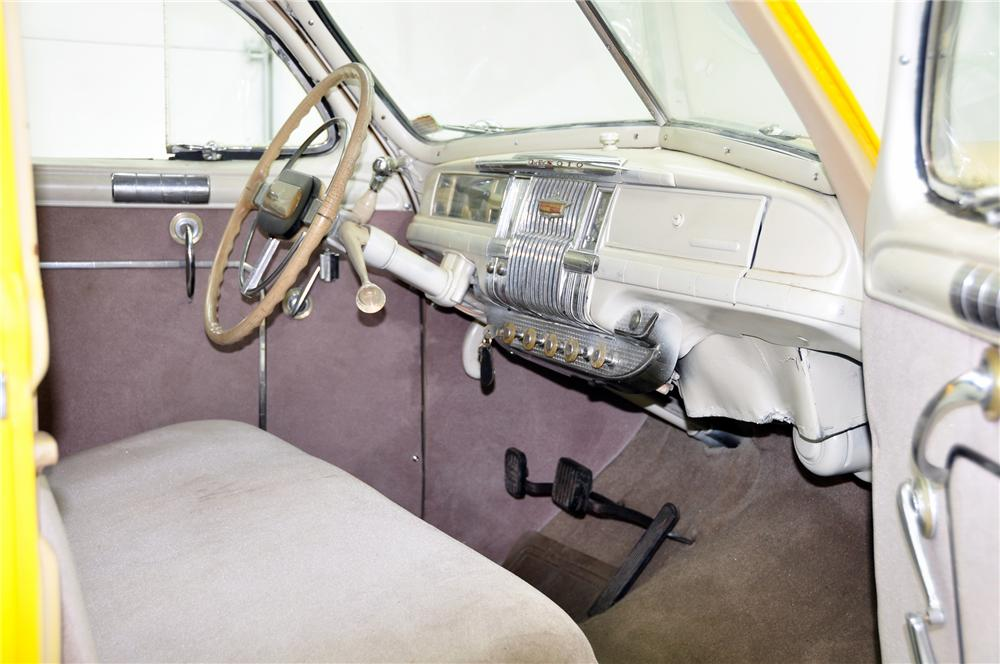 "1947 DE SOTO CUSTOM ""BEN BUTTON TAXI CAB"" - Interior - 82419"