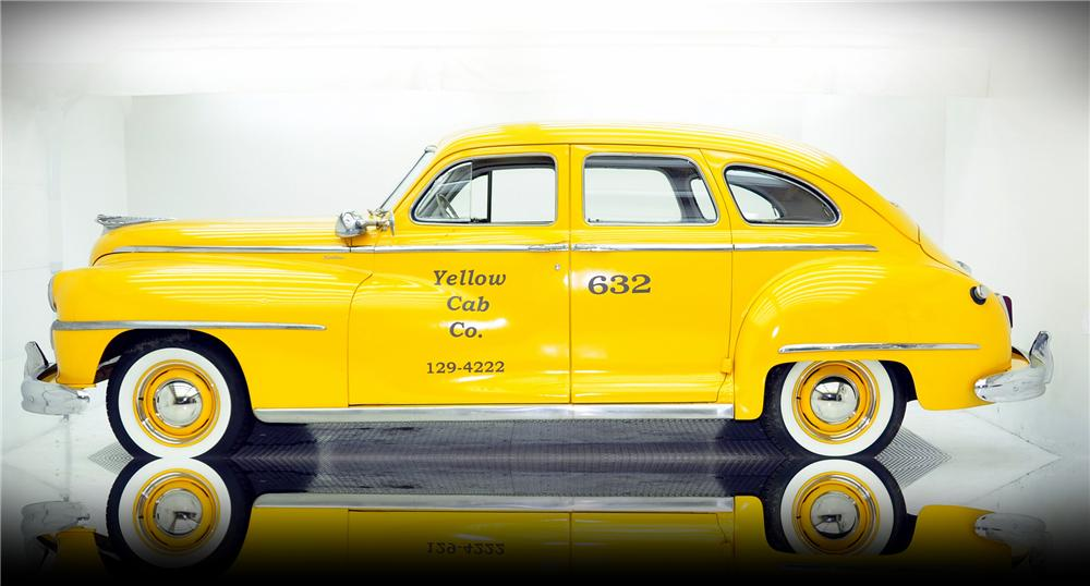 "1947 DE SOTO CUSTOM ""BEN BUTTON TAXI CAB"" - Side Profile - 82419"