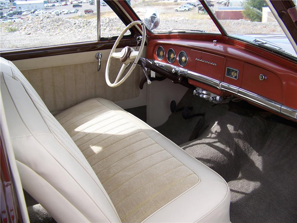 1949 PLYMOUTH SUBURBAN 2 DOOR WAGON - Interior - 82439