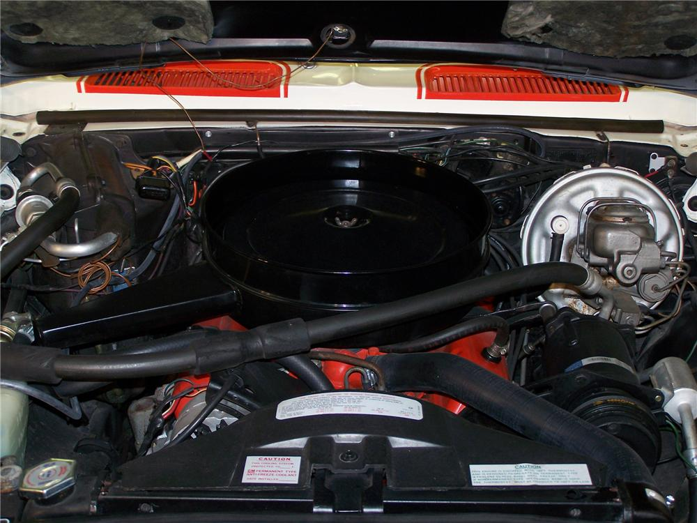 1969 CHEVROLET CAMARO INDY PACE CAR CONVERTIBLE - Engine - 82447