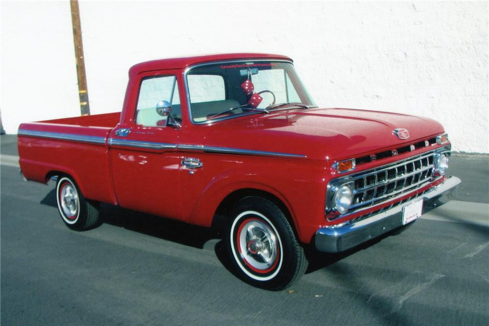 1965 FORD F-100 PICKUP - Front 3/4 - 82493