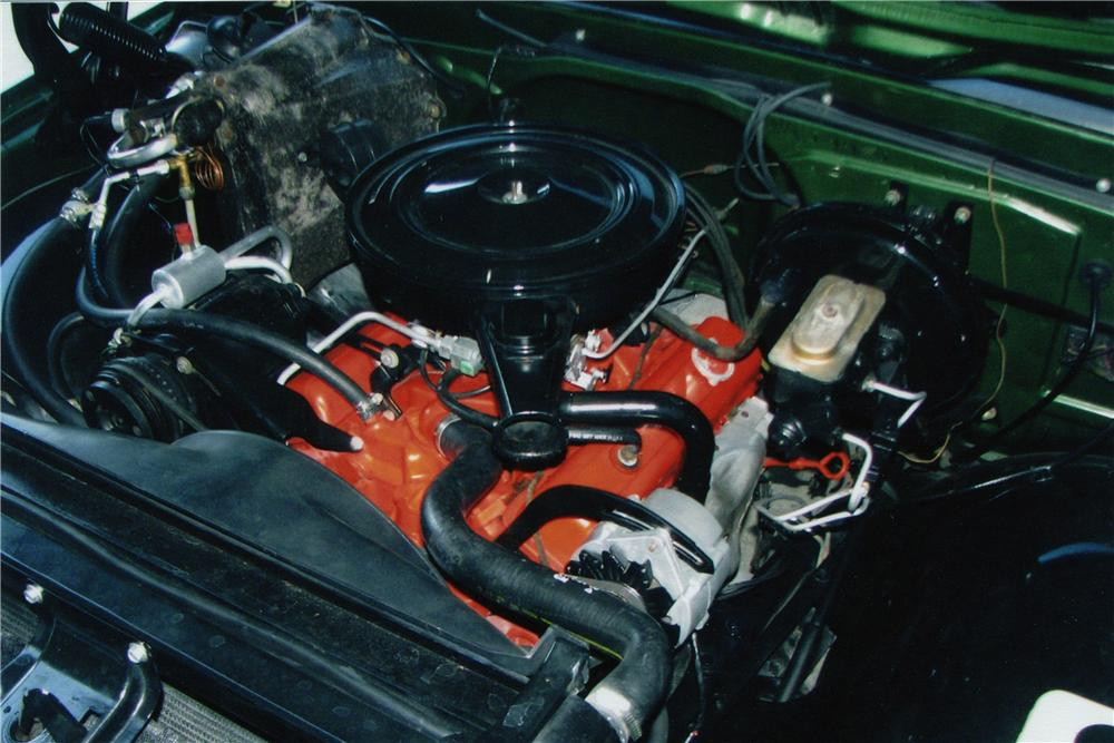 1970 CHEVROLET C-10 FLEETSIDE SHORTBOX PICKUP - Engine - 82496