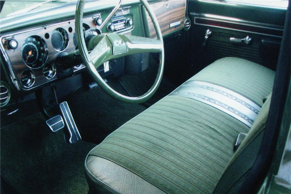 1970 CHEVROLET C-10 FLEETSIDE SHORTBOX PICKUP - Interior - 82496