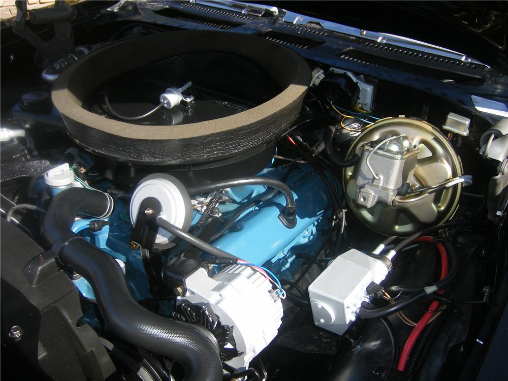 1972 OLDSMOBILE CUTLASS CONVERTIBLE - Engine - 82503