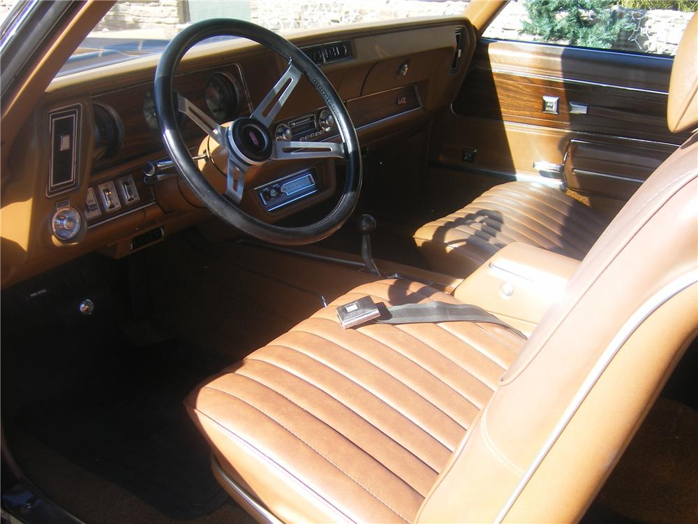 1972 OLDSMOBILE CUTLASS CONVERTIBLE - Interior - 82503