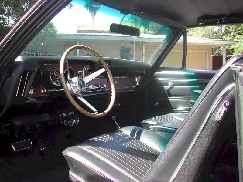 1968 PONTIAC GTO COUPE - Interior - 82506