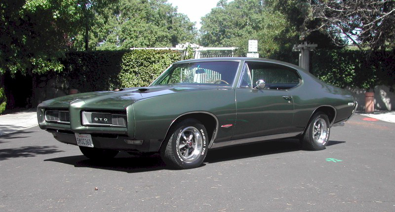 1968 PONTIAC GTO COUPE - Side Profile - 82506
