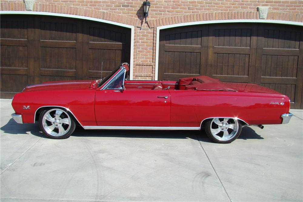 1965 CHEVROLET CHEVELLE MALIBU SS CONVERTIBLE RESTOMOD - Side Profile - 82509