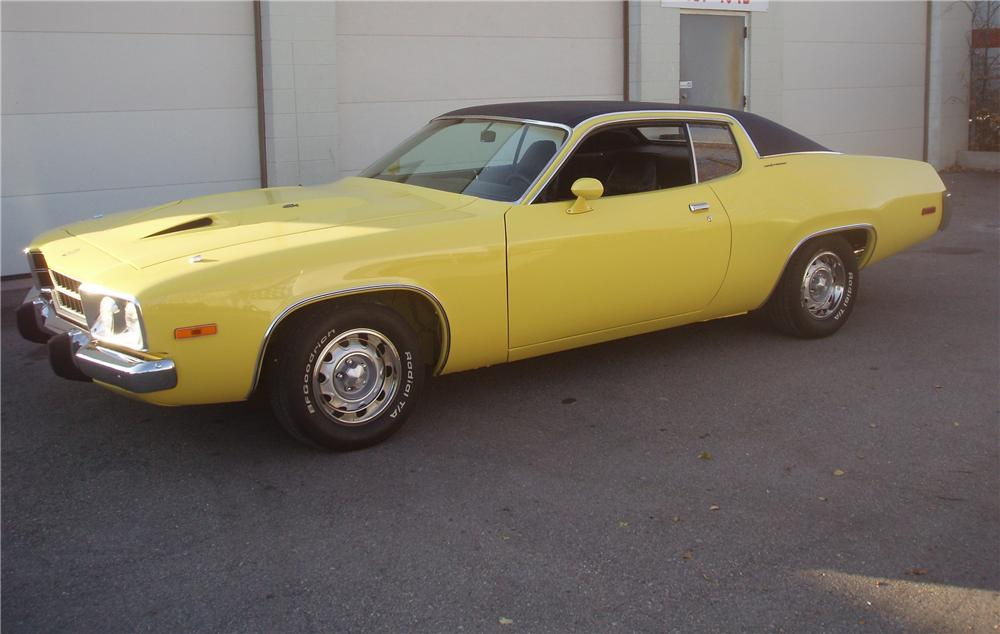 1973 PLYMOUTH ROAD RUNNER/GTX 2 DOOR COUPE - Front 3/4 - 82521