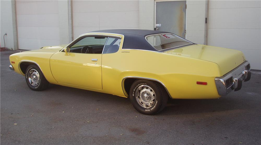 1973 PLYMOUTH ROAD RUNNER/GTX 2 DOOR COUPE - Rear 3/4 - 82521