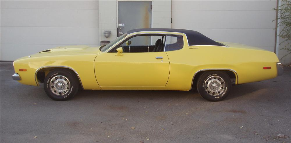 1973 PLYMOUTH ROAD RUNNER/GTX 2 DOOR COUPE - Side Profile - 82521