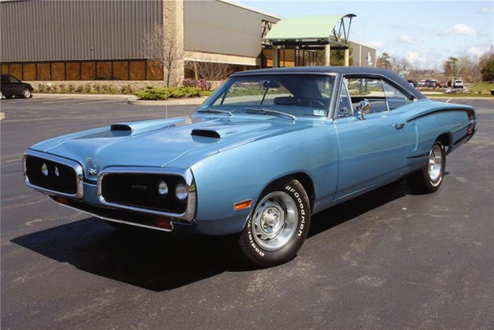1970 DODGE SUPER BEE HEMI RE-CREATION - Front 3/4 - 82526