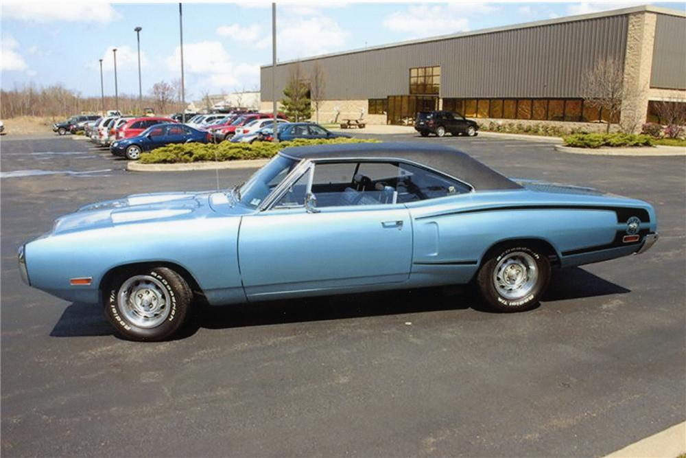 1970 DODGE SUPER BEE HEMI RE-CREATION - Side Profile - 82526