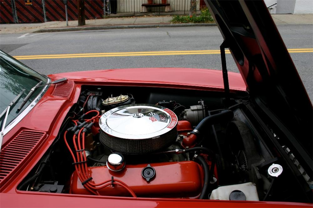 1966 CHEVROLET CORVETTE CONVERTIBLE - Engine - 82527