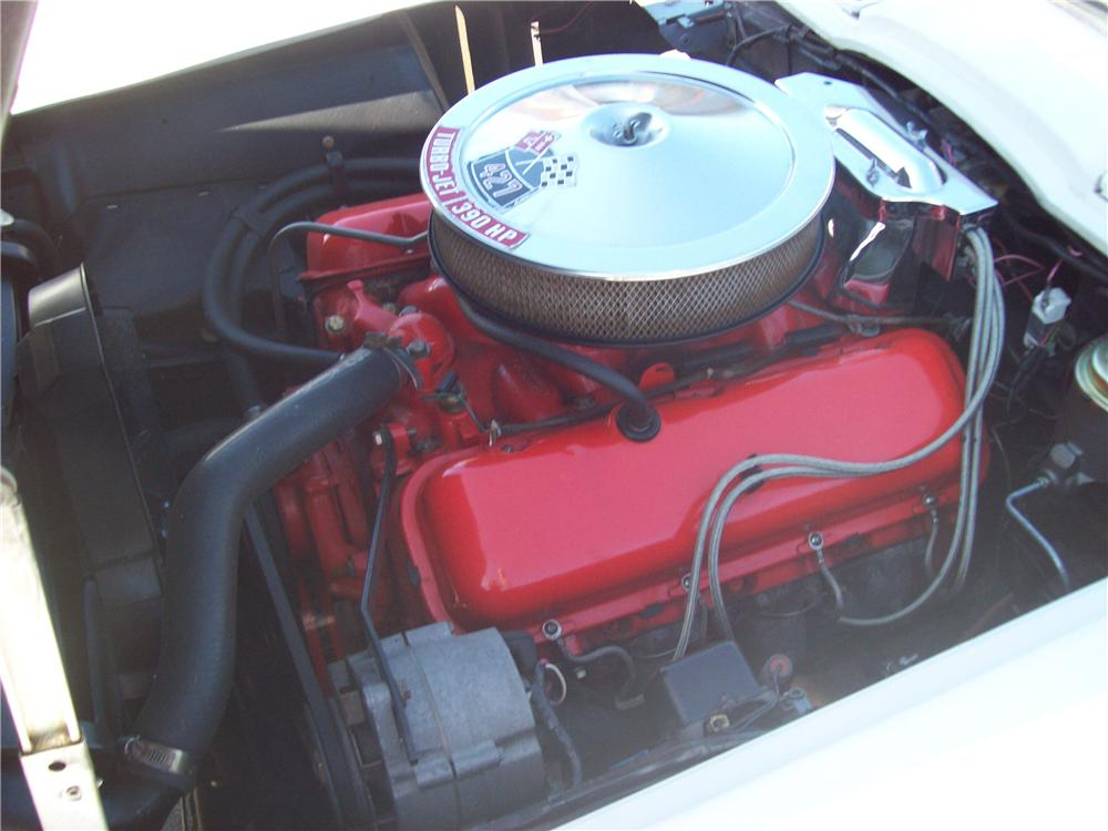 1966 CHEVROLET CORVETTE CONVERTIBLE - Engine - 82528