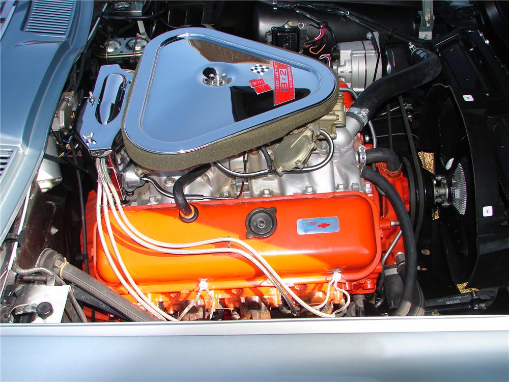 1967 CHEVROLET CORVETTE COUPE - Engine - 82529