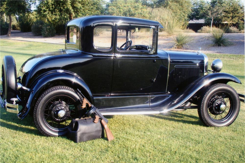 "1930 FORD MODEL A COUPE ""USED BY JOHN DILLINGER"" - Side Profile - 82583"